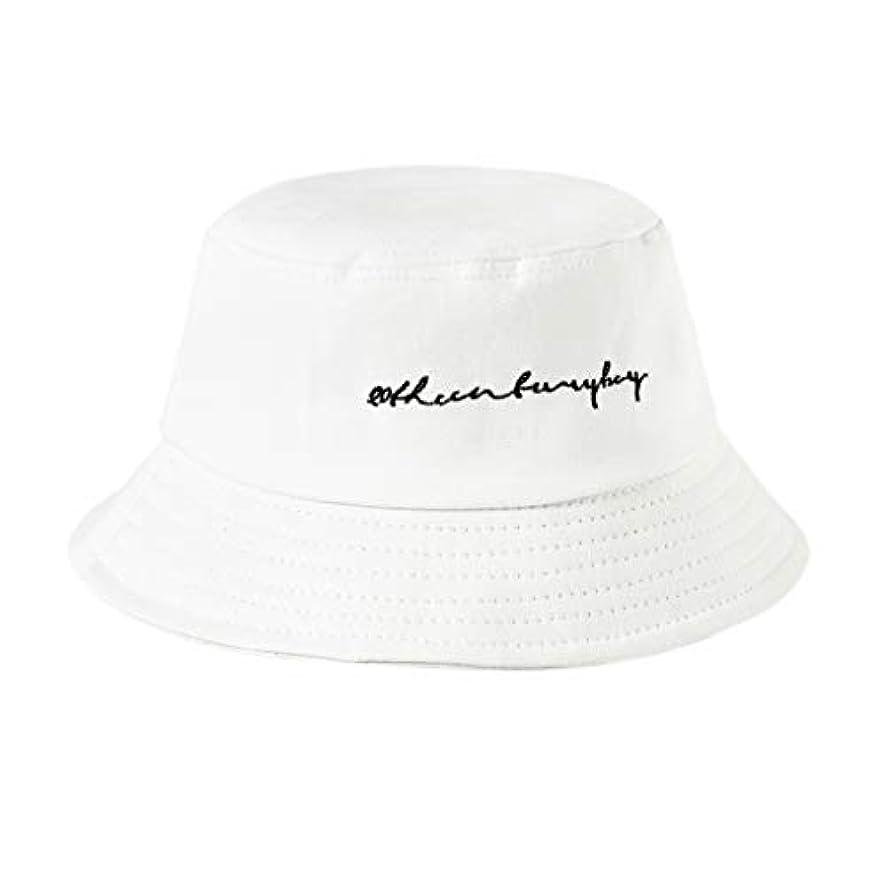 マーティフィールディング環境保護主義者解体するManyao 22色女性女の子面白い刺繍手紙広いつばバケツ帽子夏カジュアル原宿ヒップホップ学生スポーツ漁師キャップ