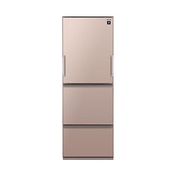 シャープ 冷蔵庫 高品位ガラスドア採用 プラズマ...の商品画像