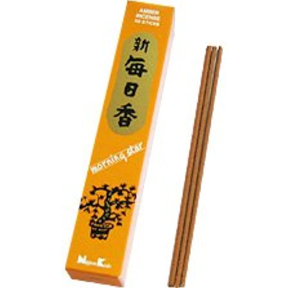孤独な開いたリテラシーMorning Star Amber Incense Sticks 50
