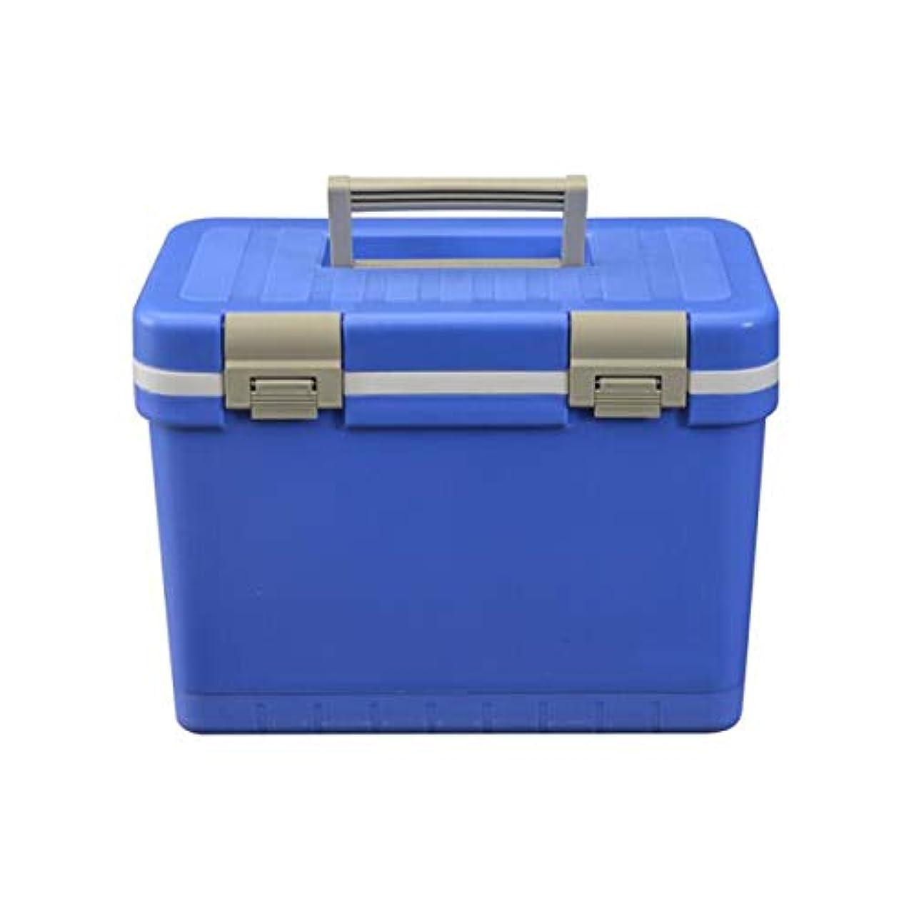 MUZIWENJU クーラー、12リットル車のインキュベーターポータブル家庭用冷蔵庫医療薬ワクチンコールドチェーンボックス屋外自動運転バーベキュー釣りボックス付き/なし温度計