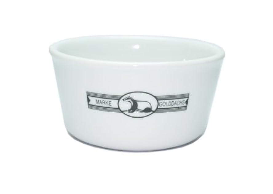 印象ストレスの多いベリーGolddachs Shaving Pot, Porcelain