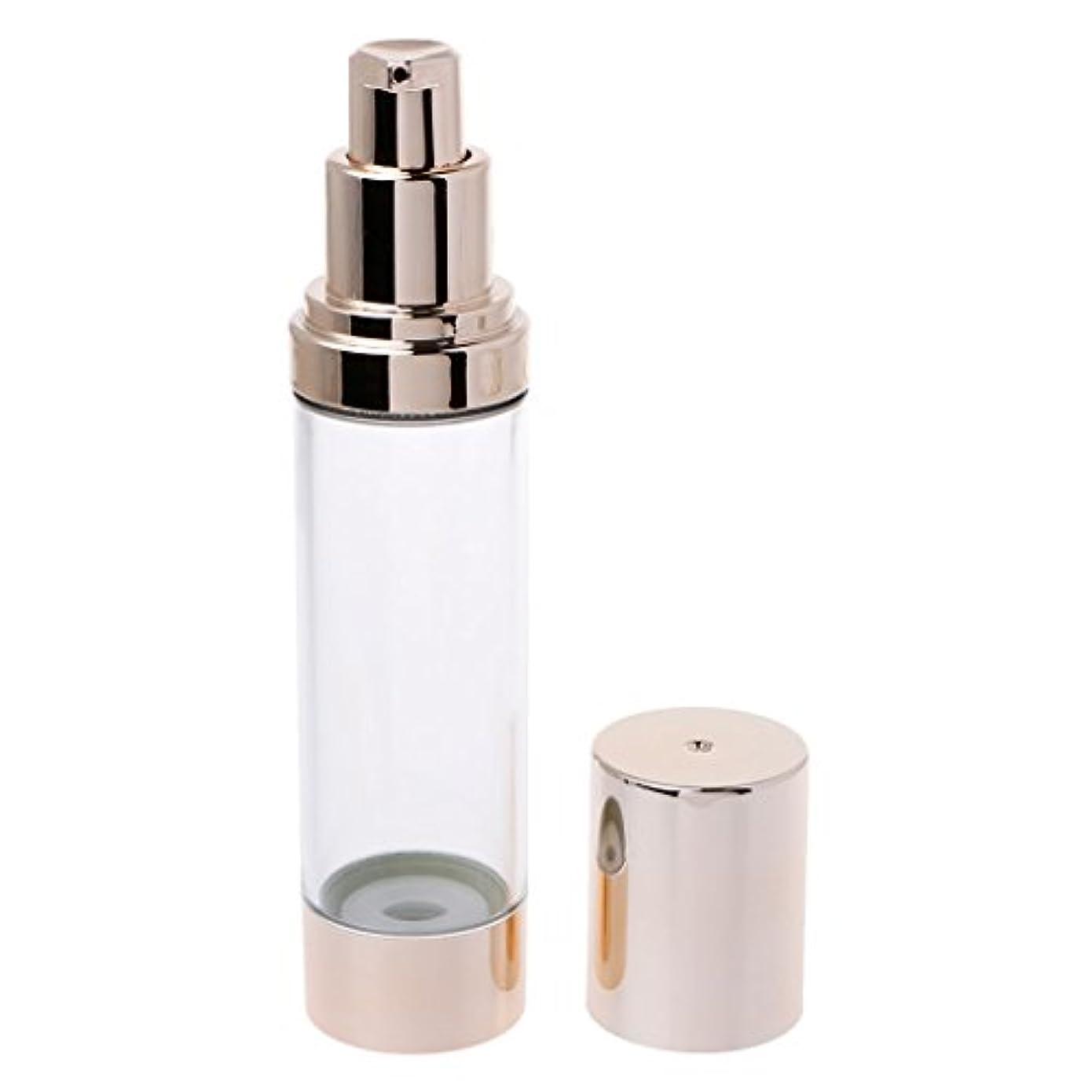 拒絶肝渇きDabixx 15/30 / 50ML空化粧品エアレスボトルプラスチック処理ポンプトラベルボトル - 50ML