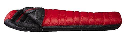 イスカ(ISUKA) 寝袋 エア 810EX レッド [最低使用温度-25度]