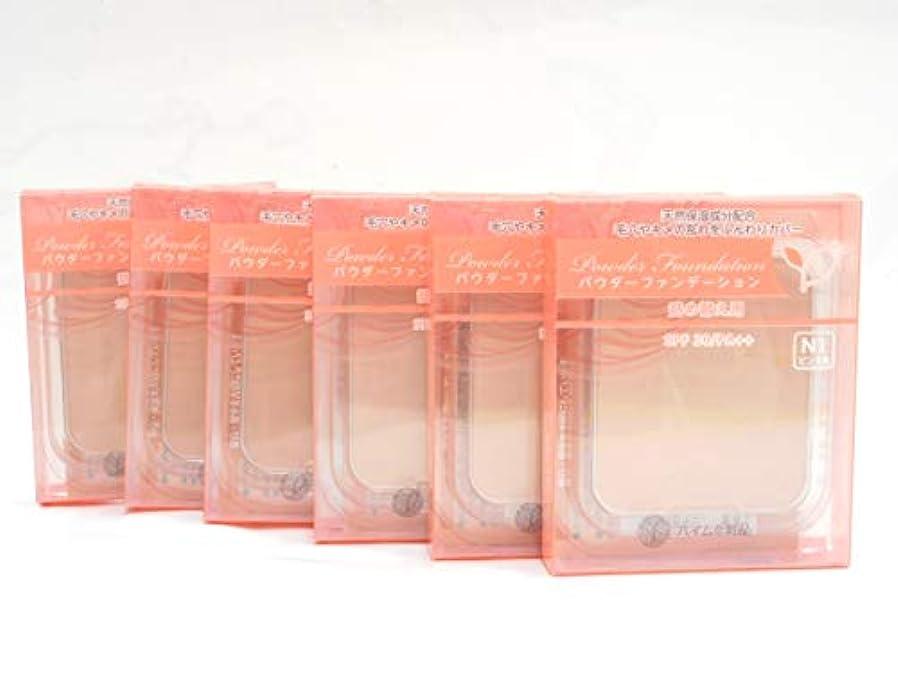 香ばしい影響力のあるモスクハイム ナチュラル パウダーファンデーション(詰替用(レフィル))N1ピンク系 X6個セット