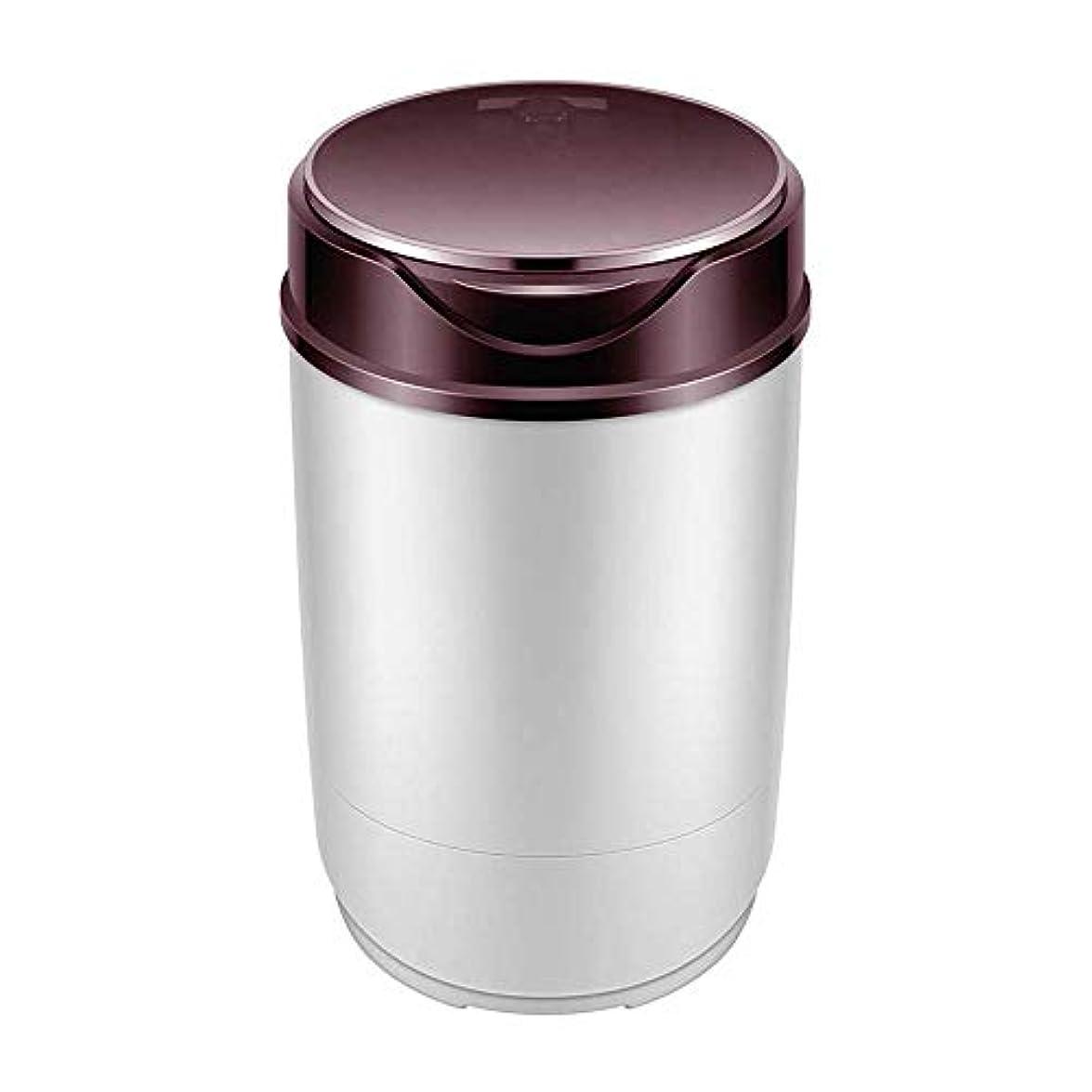 恥ずかしい気配りのある適度な取り外し可能なミニ洗濯機コンパクトカウンタートップ洗濯機、ベビーシングル浴槽洗濯機は、内蔵360、バスケットドレイン°細菌の増殖を減らすことができますブルーライト (Color : Red)