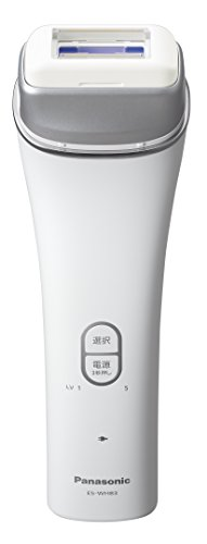 パナソニック 光美容器 光エステ ボディ用 シルバー調 ES-WH83-S