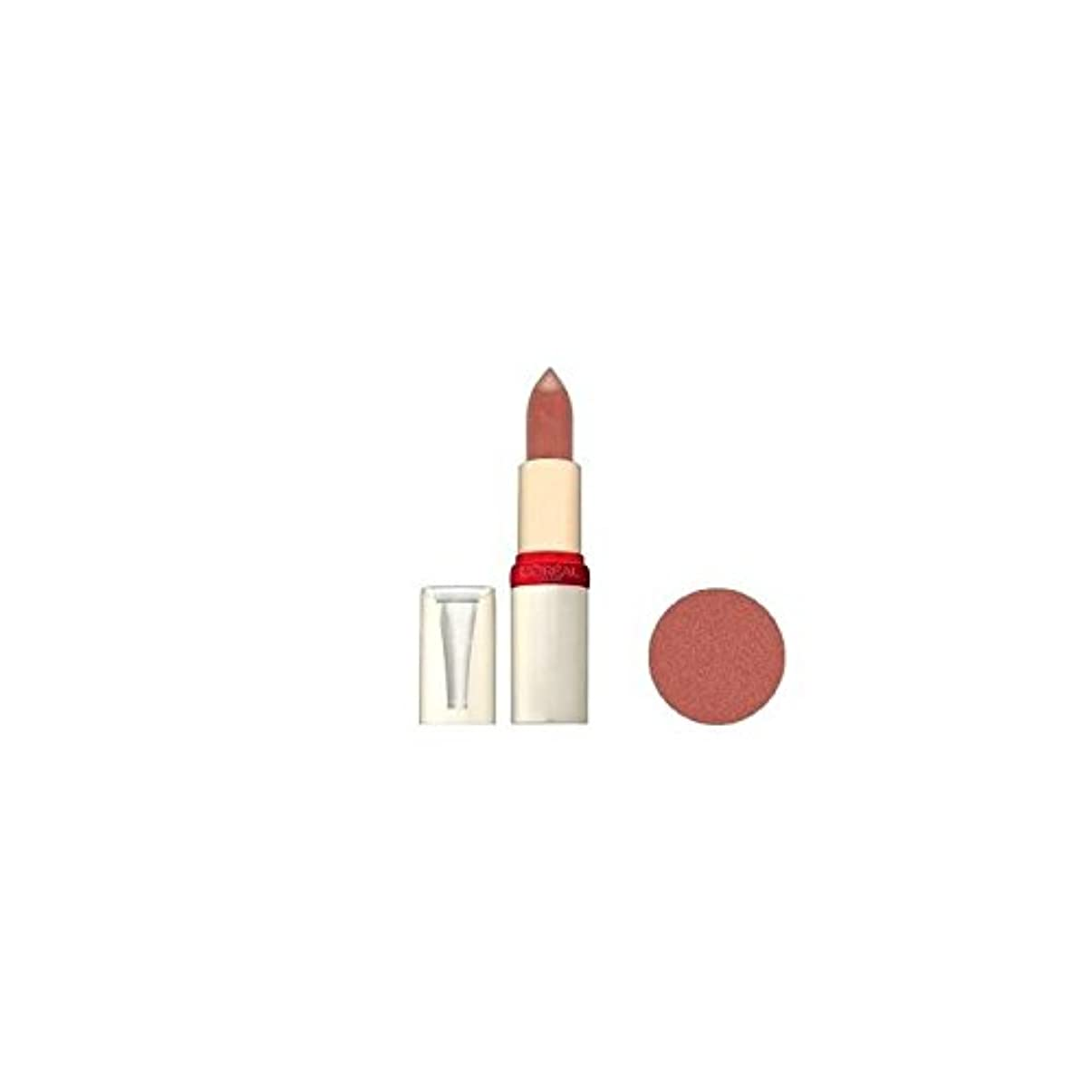 誤解を招くスカープ測定可能L'OREAL - Rouge à lèvres - Color Riche Sérum Anti Age - 303_Pearly Praline