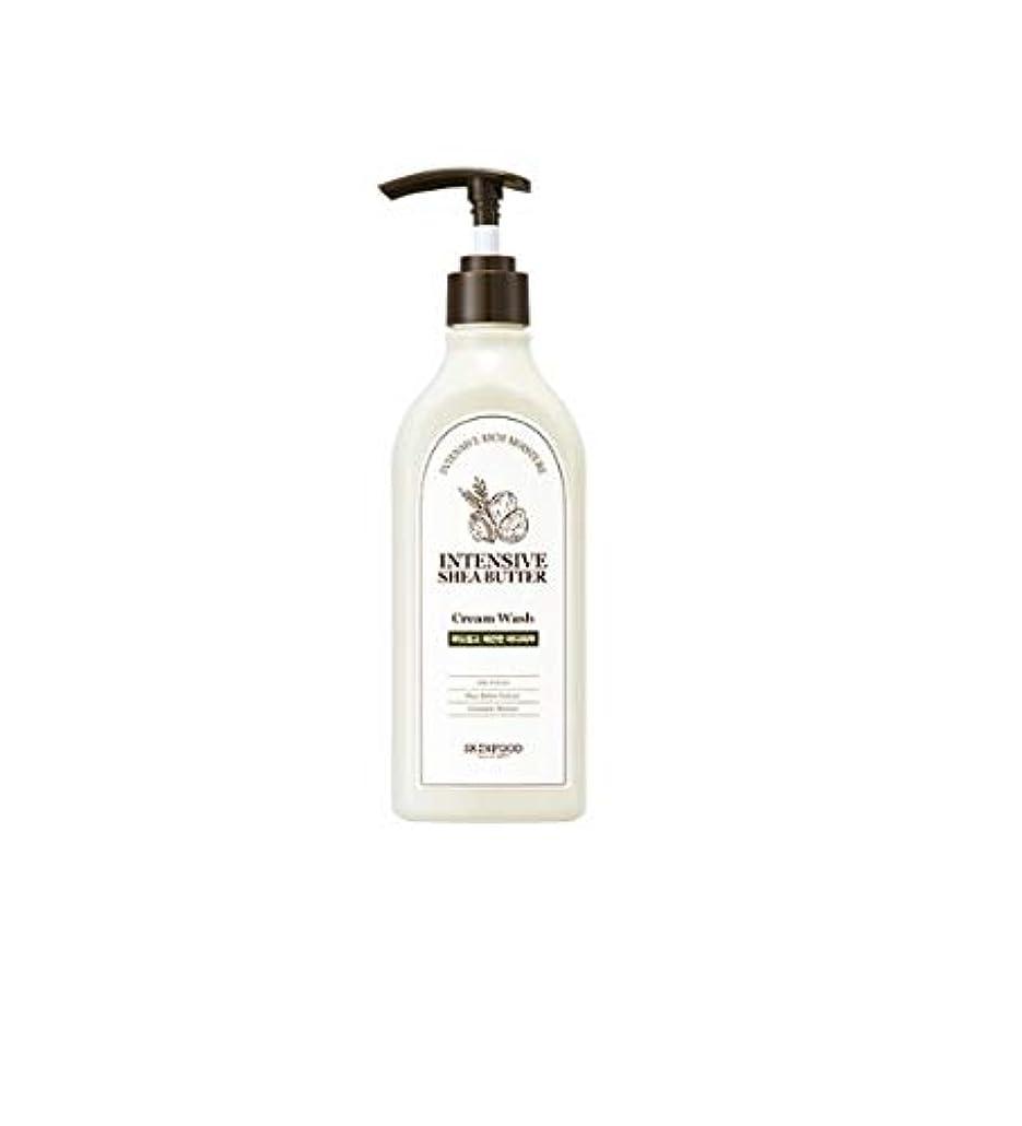 社会科フィットネス後継Skinfood 集中シアバタークリームウォッシュ/Intensive Shea Butter Cream Wash 335ml [並行輸入品]