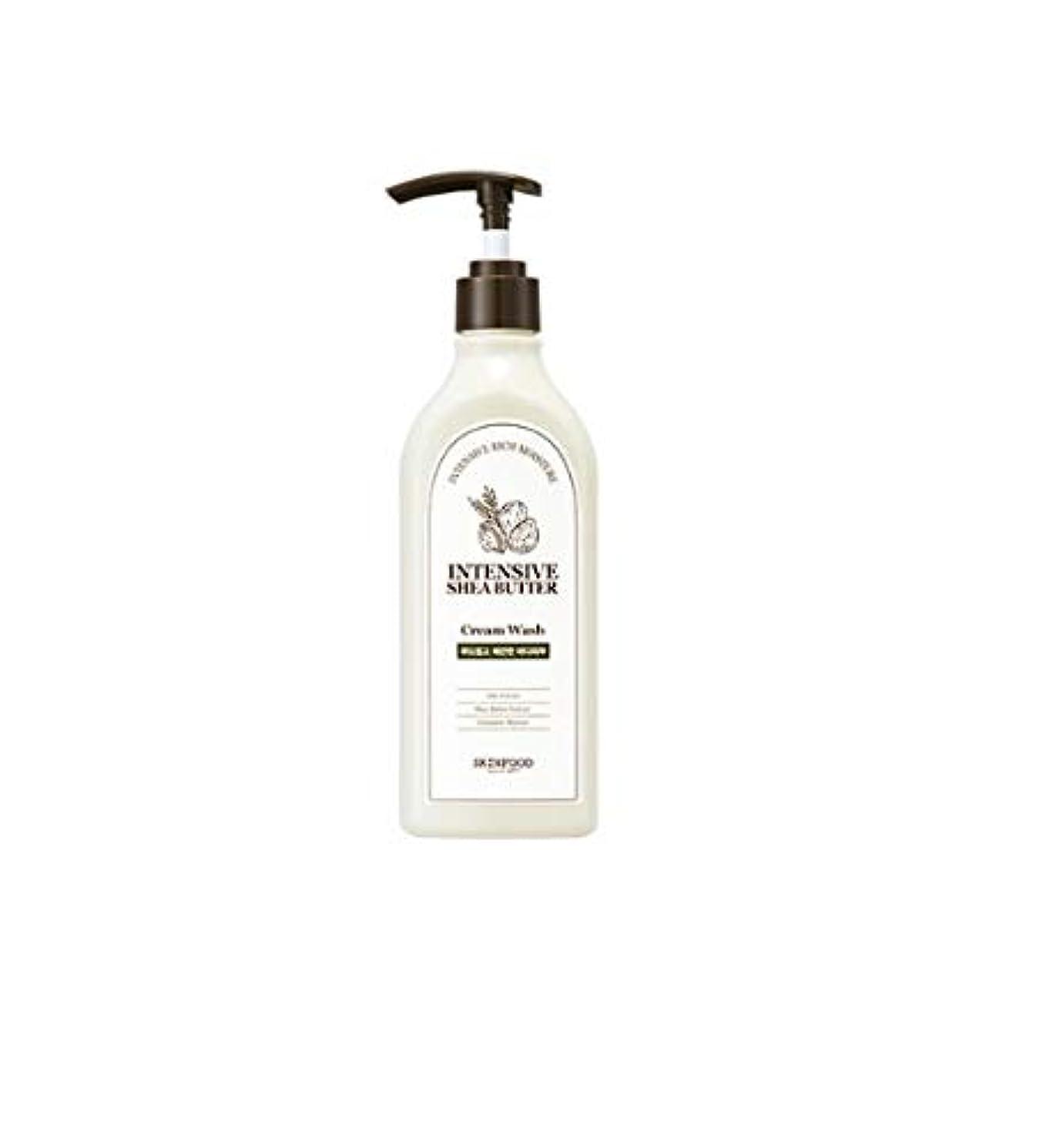 安心させる扱いやすい適性Skinfood 集中シアバタークリームウォッシュ/Intensive Shea Butter Cream Wash 335ml [並行輸入品]