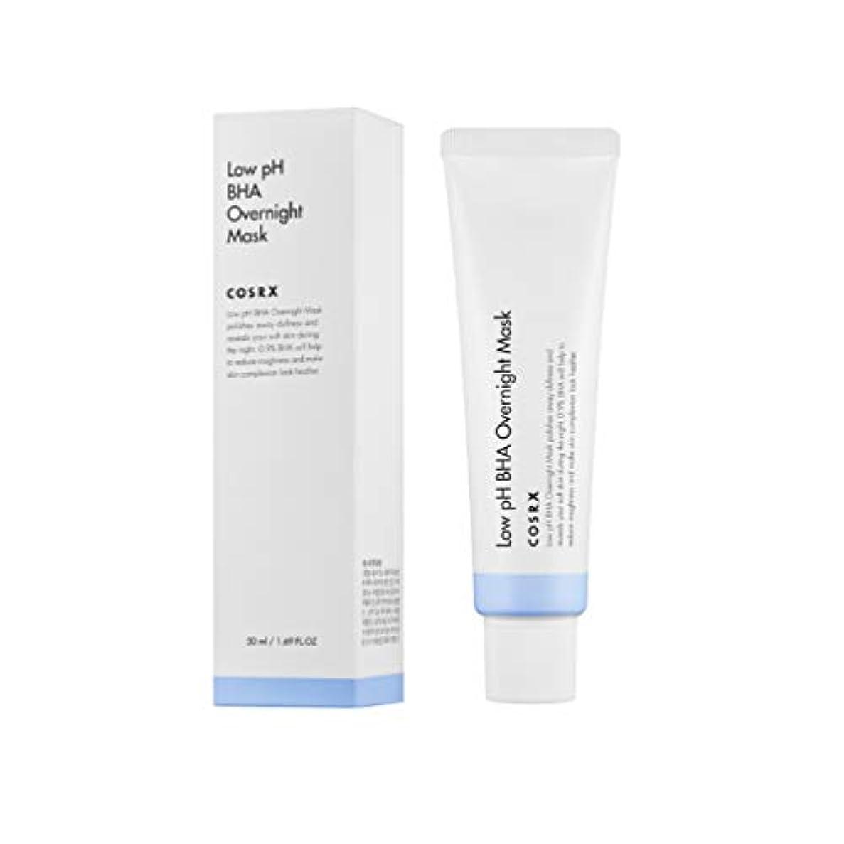 一般ランドマークシェルCOSRX 弱酸性 BHA オーバーナイト マスク / Low pH BHA Overnight Mask (50ml) [並行輸入品]