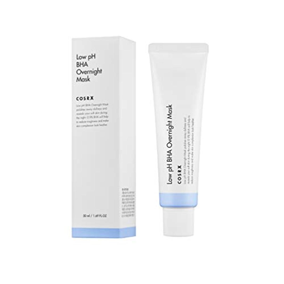 にじみ出る植生温帯COSRX 弱酸性 BHA オーバーナイト マスク / Low pH BHA Overnight Mask (50ml) [並行輸入品]