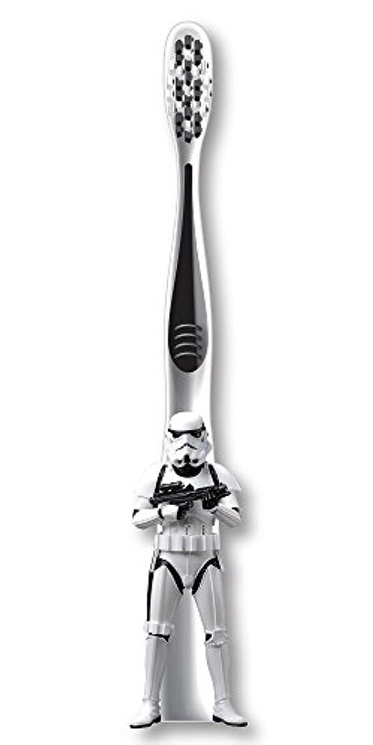 尊敬泳ぐ浸透するFirefly Star Wars Stormtrooper Soft Toothbrush スターウォーズ 歯ブラシ ソフト