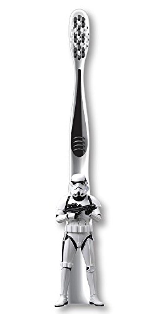 すばらしいです証拠伸ばすFirefly Star Wars Stormtrooper Soft Toothbrush スターウォーズ 歯ブラシ ソフト