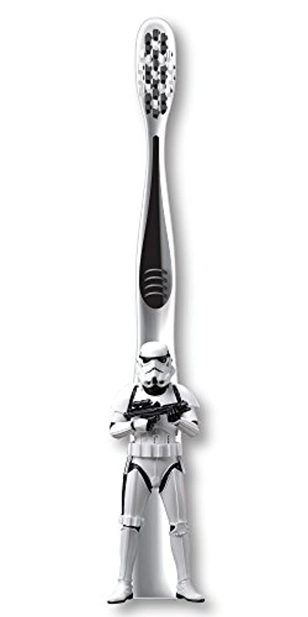 賢明な事業内容混合Firefly Star Wars Stormtrooper Soft Toothbrush スターウォーズ 歯ブラシ ソフト
