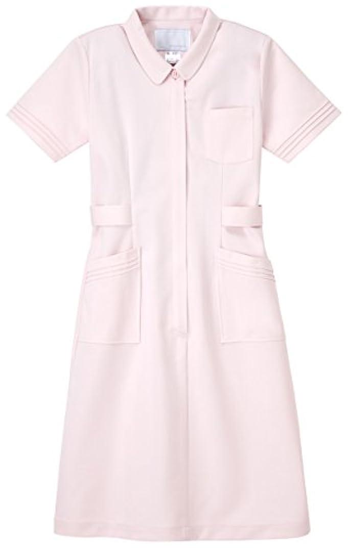 深さ背骨民間ナガイレーベン NAGAILEBEN 看護衣半袖 CA-1717(S) ピンク