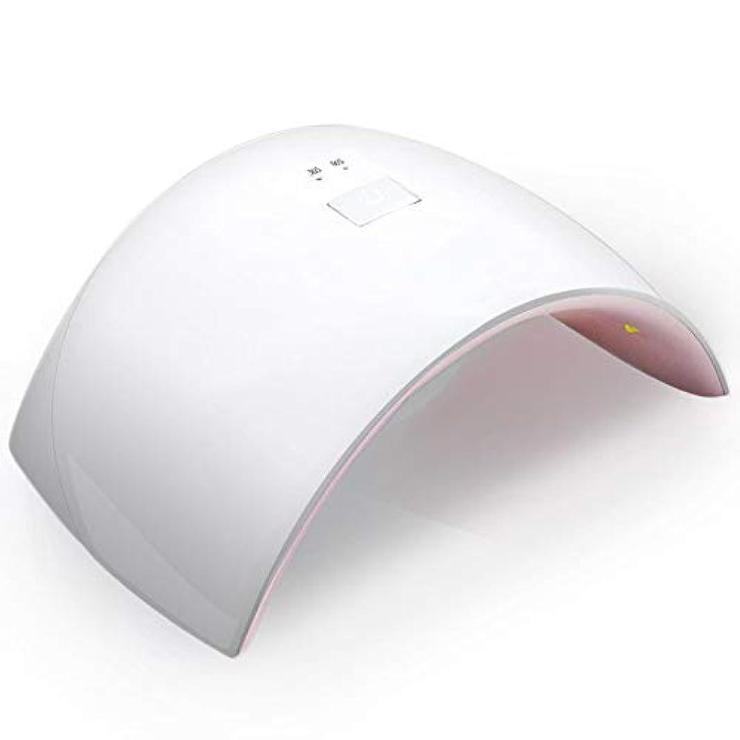 ボウリング廊下案件UVとLEDダブルライト 24W ネイルドライヤー 赤外線検知タイマー機能