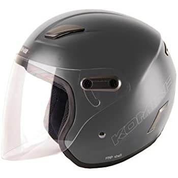 コミネ KOMINE バイク ヘルメット ジェットヘルメット ハーデス マットガンメタル L 01-169 HK-169