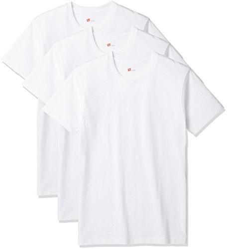 (ヘインズ) Hanes Tシャツ アオラベル クルーネック 3枚組 (最新モデル)