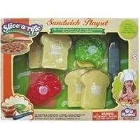 Slice-a-rific Sandwich Playset Pretend Food [並行輸入品]
