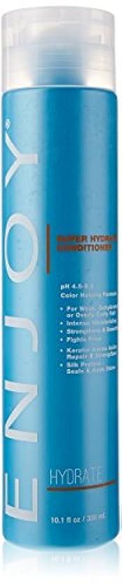 Enjoy スーパー水和物コンディショナー、 10.1液量オンス