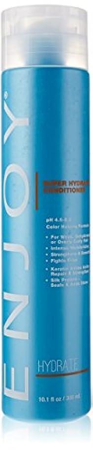 単なる肯定的思いつくEnjoy スーパー水和物コンディショナー、 10.1液量オンス