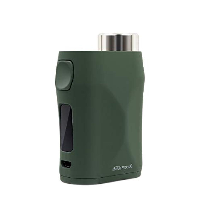 ブリードおしゃれな傾向があります電子タバコ/爆煙/ベイプ/Vape本体[イーリーフ] Eleaf istick Pico X 75W Mod【温度管理機能搭載 プリヒート機能搭載】グリーンGreen