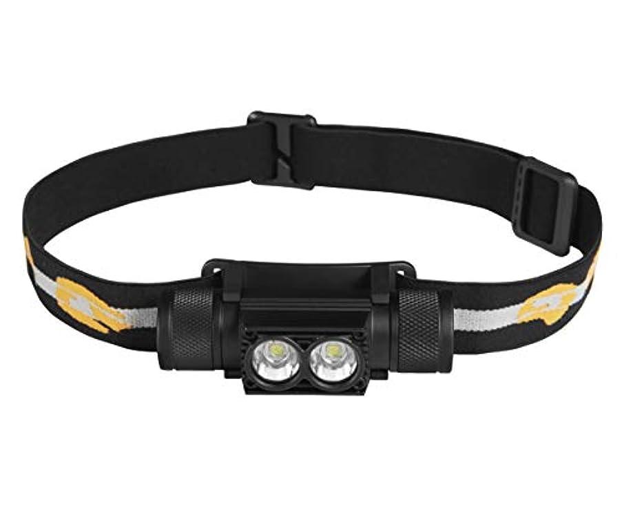 反対にくつろぎ欺くCatalast Group LEDヘッドライト 超軽量 USB充電 防水 90°調整 照明距離200m バッテリー2200A 明るさ調整