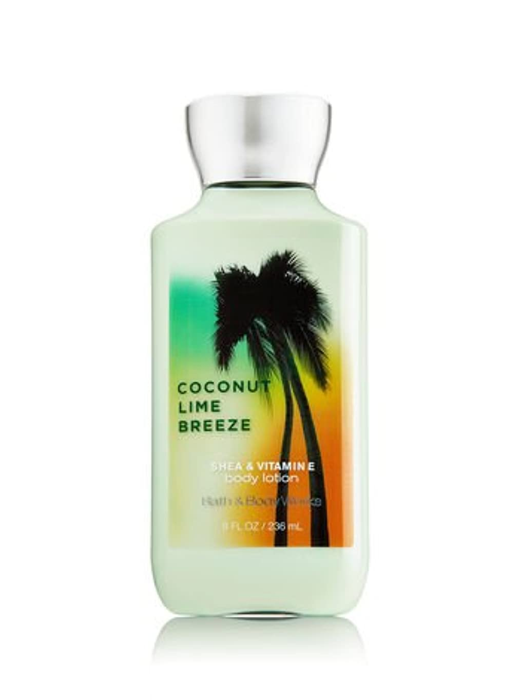 前方へみすぼらしい外交バス&ボディワークス ココナッツライムブリーズ ボディローション Coconut Lime Breeze Body Lotion [並行輸入品]