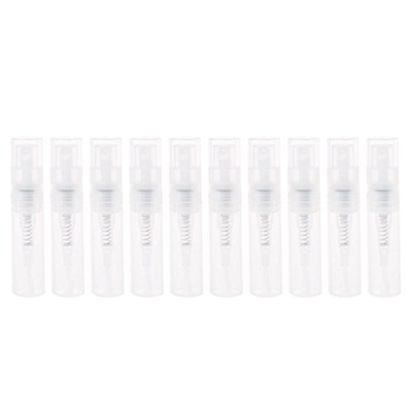 詐欺半島召集するDabixx 2ml小さいプラスチック香水スプレーの空のびんの化粧品の容器のスプレーボトル