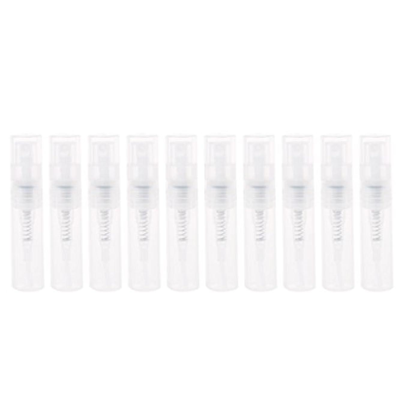 エージェント無人エンディングDabixx 2ml小さいプラスチック香水スプレーの空のびんの化粧品の容器のスプレーボトル