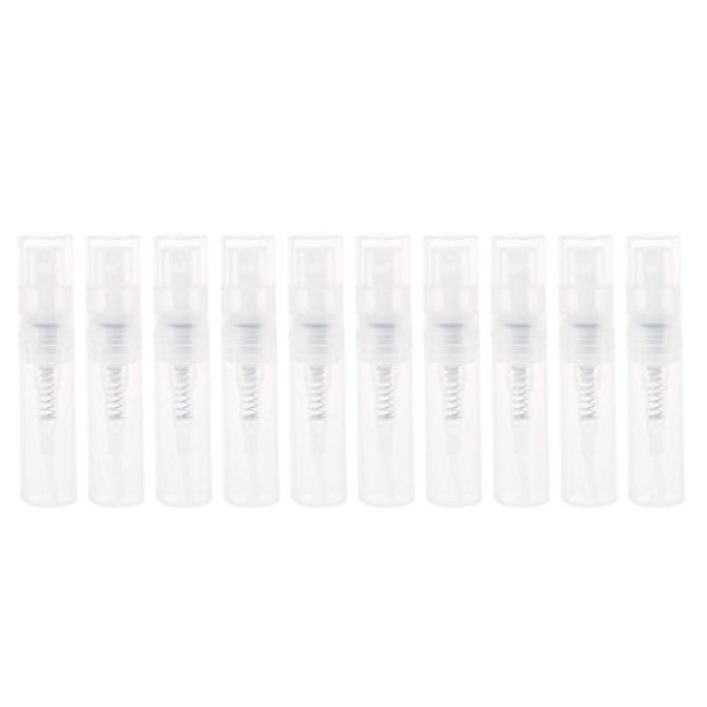 社員夜明けにレコーダーDabixx 2ml小さいプラスチック香水スプレーの空のびんの化粧品の容器のスプレーボトル