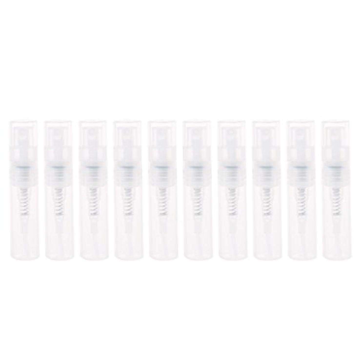 不明瞭誘導必要としているDabixx 2ml小さいプラスチック香水スプレーの空のびんの化粧品の容器のスプレーボトル