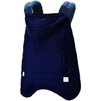 BABYHOPPER ベビーホッパー(BABYHOPPER) 抱っこひも 防寒 カバー 軽量 エルゴ ウインターマルチプルカバー/はっ水 ベビーカーでも使える ネイビー 0か月~ CKBH04022