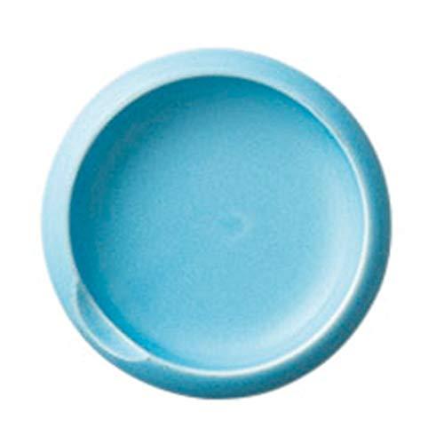 マカロン小皿パステルブルー [ 9.1 x 2.4cm ] [ 小皿 ]   洋食 飲食店 レストラン カフェ モダン おしゃれ 業務用