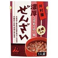 井村屋 濃厚ぜんざい 180g×30袋入×(2ケース)