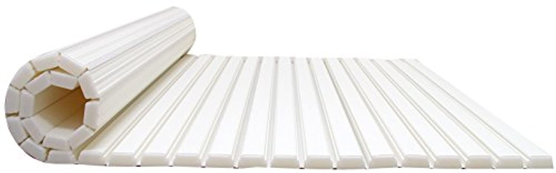 東プレ お風呂のふた シャッター式風呂ふた 75×150cm ホワイト L-15 0759ba