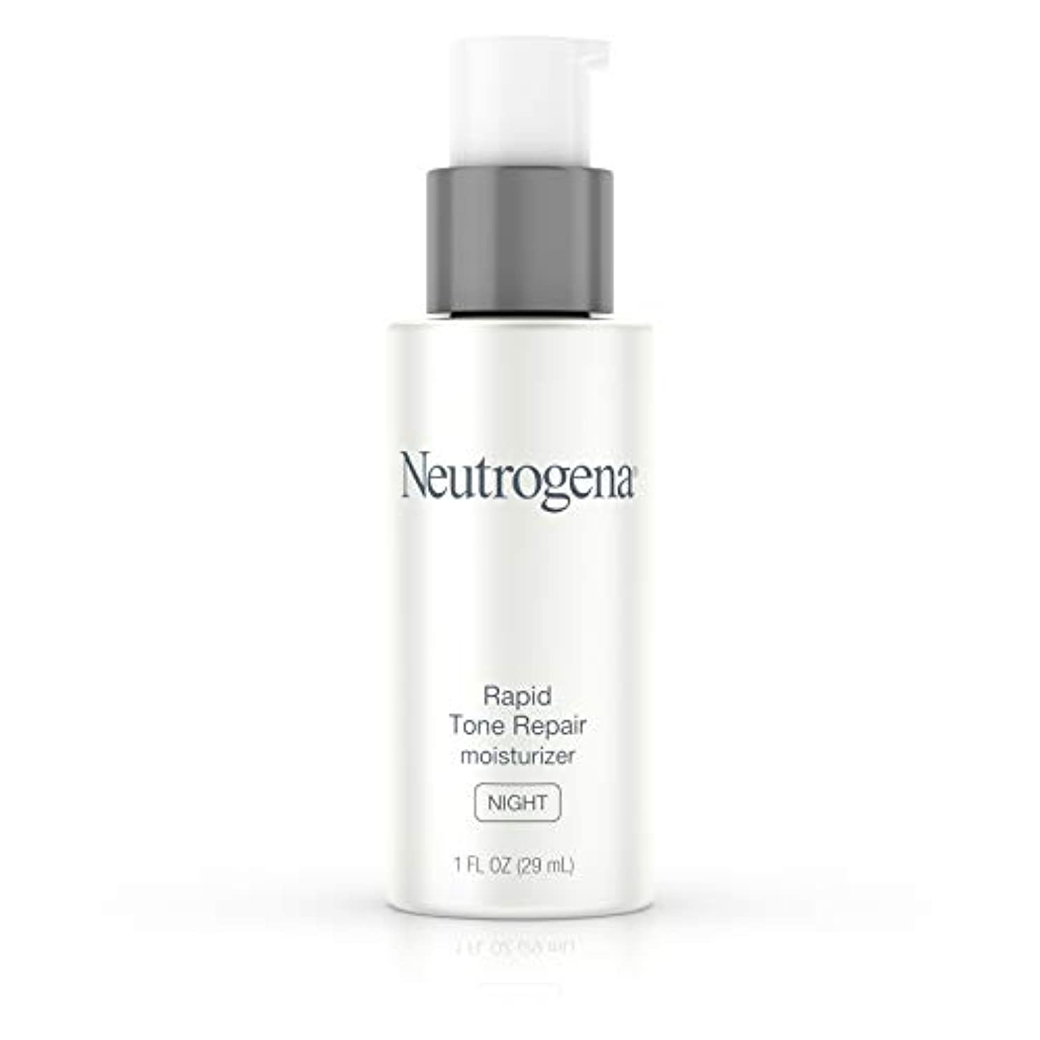 検出可能リベラル形状Neutrogena Rapid Tone Repair Moisturizer Night, 1 Ounce