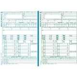 日本法令 平成28年給与支払報告書(源泉徴収票付) レーザープリンター用 A4判カット紙