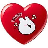 the SAEM ザセム ラブミー マルチ ポット 3色 OverActionLittleRabbit Love Me Multi Pot すこぶる動くちびウサギ 韓国コスメ (02-Love On Top)
