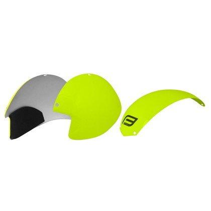 [해외](FORCE | 포스) (자전거 헬멧 관련) Globe 용 컬러 ??패널 키트 fluo (9018802)/(FORCE | Force) (related to helmets for bicycles) Color panel kit for Globe fluo (9018802)