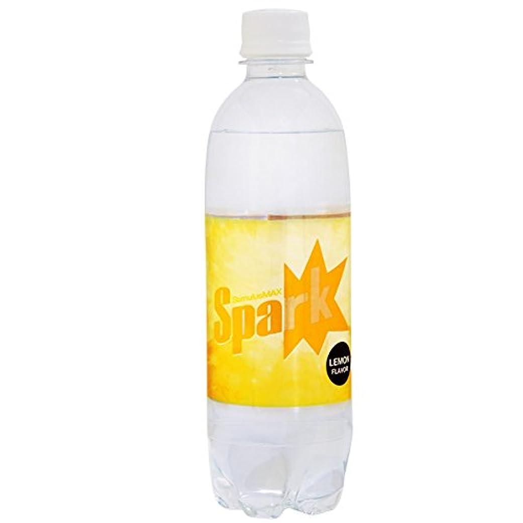 誇張する興味マッシュ炭酸水 レモン 500ml 24本 強炭酸水 Spark スパーク レモンフレーバー