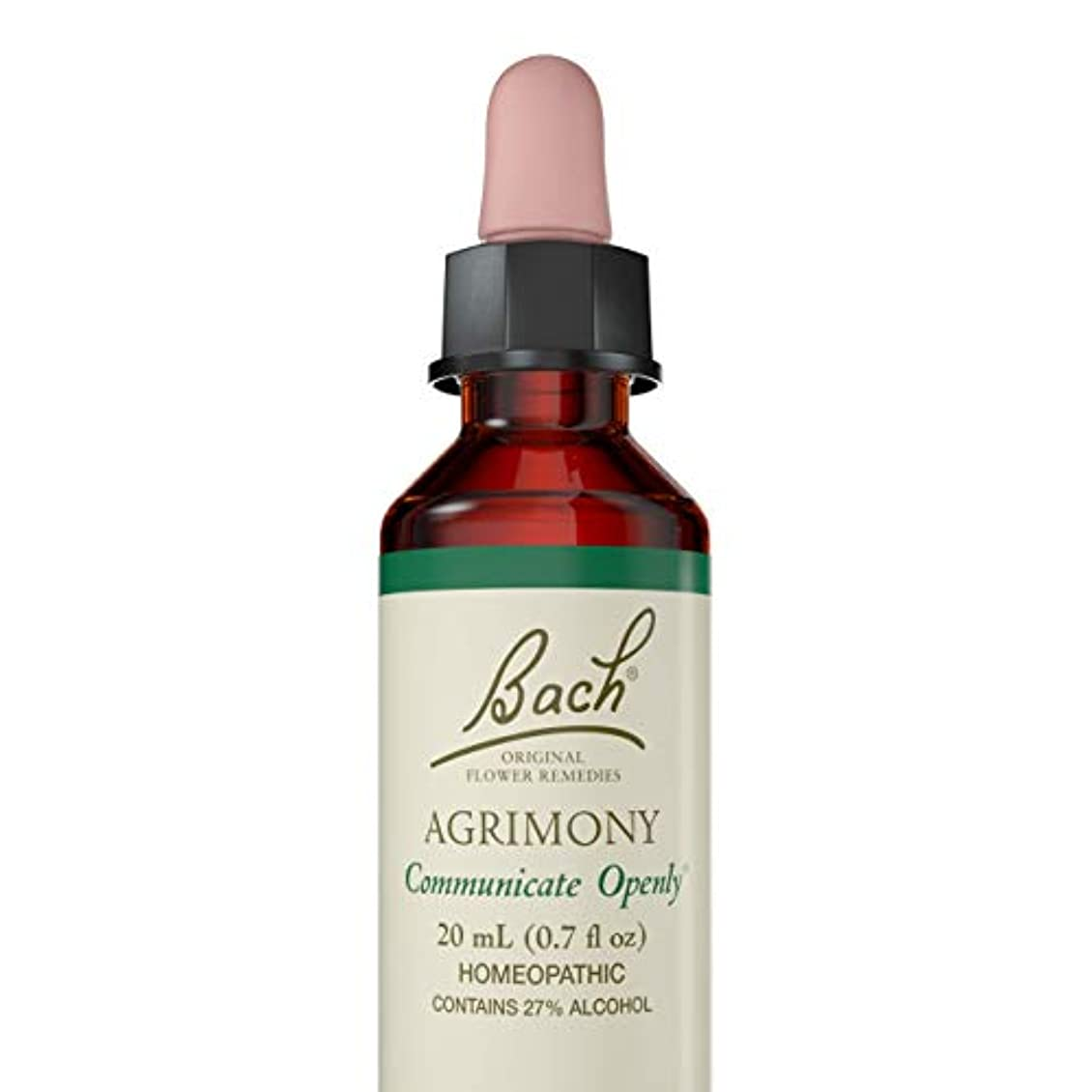 微視的背の高い一般海外直送品 Bach Flower Essences Flower Essence Agrimony, 20 ML