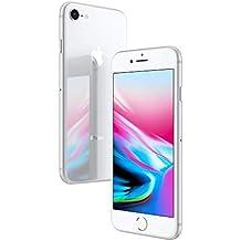 Apple iPhone 8 Silver 64GB SIM-Free Smartphone (Renewed)