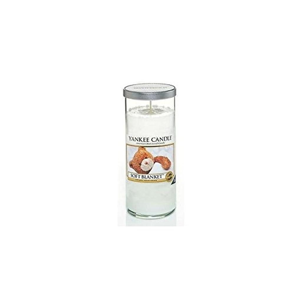 インタラクション致命的トラックYankee Candles Large Pillar Candle - Soft Blanket (Pack of 6) - ヤンキーキャンドル大きな柱キャンドル - ソフト毛布 (x6) [並行輸入品]