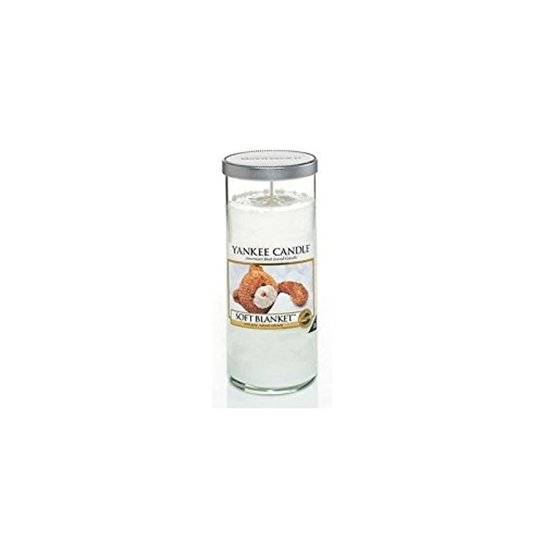 権威州ジョージエリオットYankee Candles Large Pillar Candle - Soft Blanket (Pack of 6) - ヤンキーキャンドル大きな柱キャンドル - ソフト毛布 (x6) [並行輸入品]