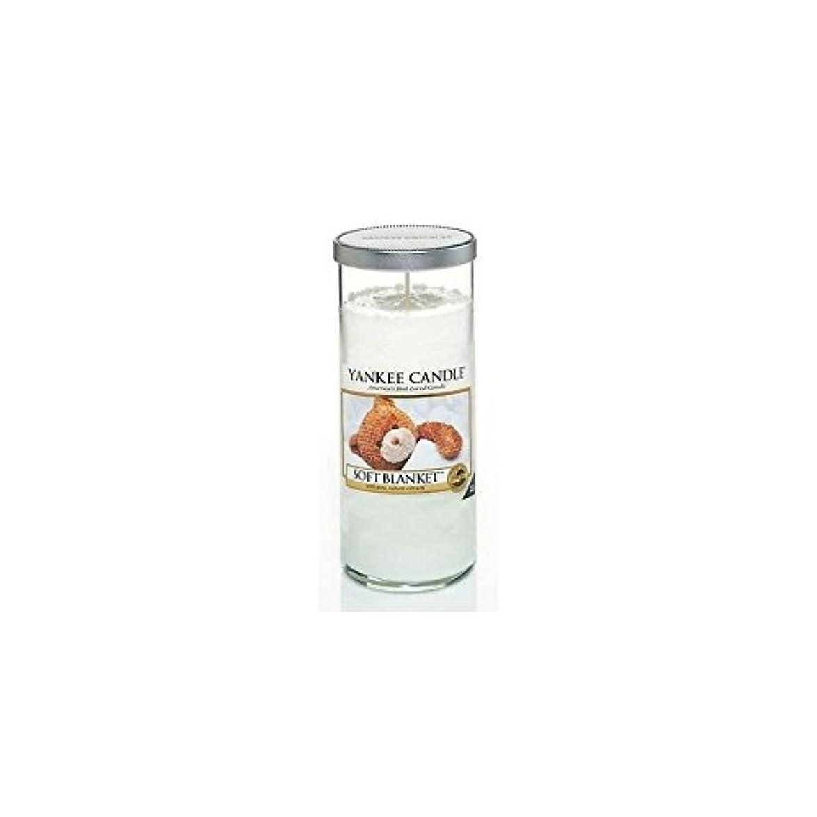 北極圏持ってる弾性Yankee Candles Large Pillar Candle - Soft Blanket (Pack of 6) - ヤンキーキャンドル大きな柱キャンドル - ソフト毛布 (x6) [並行輸入品]