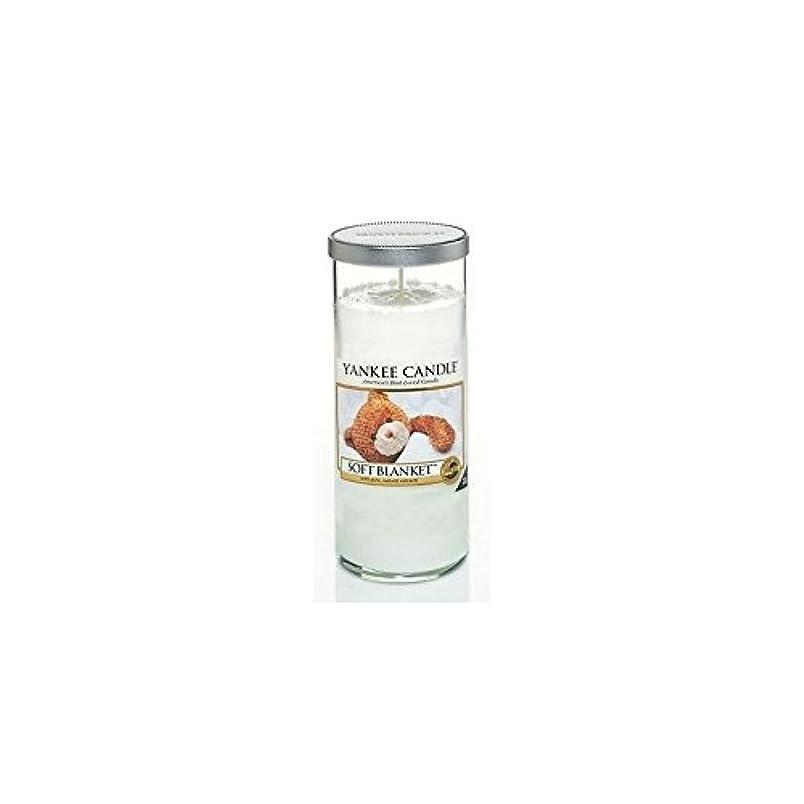 不幸非公式前にYankee Candles Large Pillar Candle - Soft Blanket (Pack of 6) - ヤンキーキャンドル大きな柱キャンドル - ソフト毛布 (x6) [並行輸入品]
