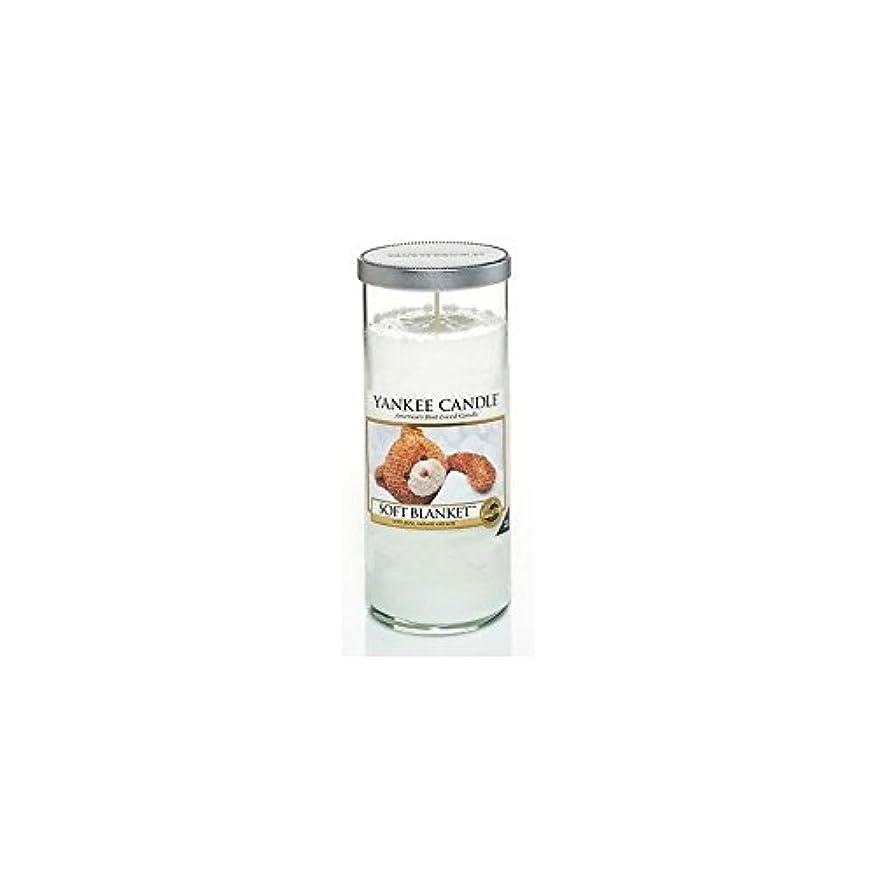 横に偶然二週間Yankee Candles Large Pillar Candle - Soft Blanket (Pack of 6) - ヤンキーキャンドル大きな柱キャンドル - ソフト毛布 (x6) [並行輸入品]
