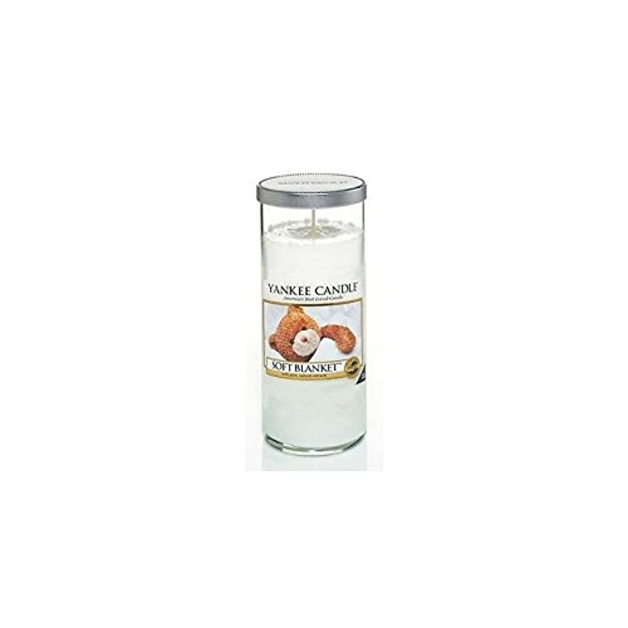 Yankee Candles Large Pillar Candle - Soft Blanket (Pack of 6) - ヤンキーキャンドル大きな柱キャンドル - ソフト毛布 (x6) [並行輸入品]