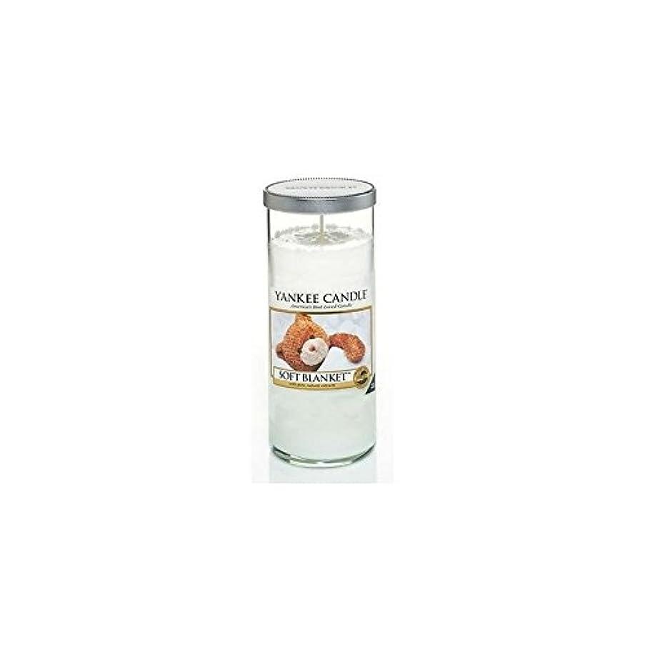 トライアスリートホース代表団Yankee Candles Large Pillar Candle - Soft Blanket (Pack of 2) - ヤンキーキャンドル大きな柱キャンドル - ソフト毛布 (x2) [並行輸入品]